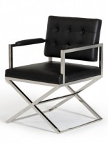 Black Glam Chair 156x207