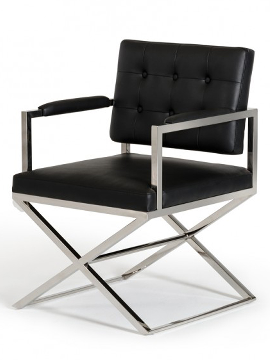 Black Glam Chair