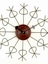Brass Twist Clock 156x207