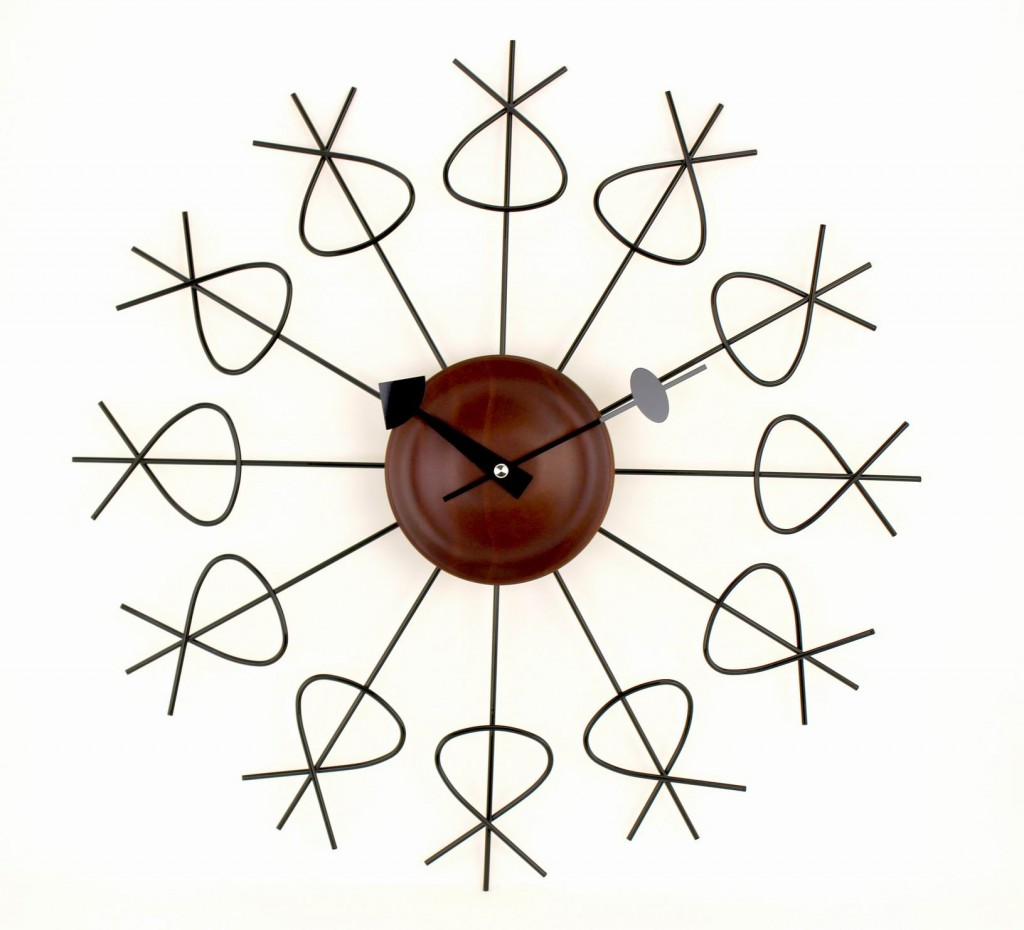 Brass Twist Clock