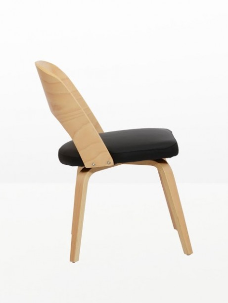 Construct Chair Natural Wood Black 2 461x614