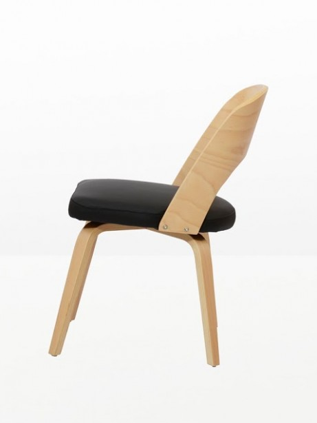 Construct Chair Natural Wood Black 7 461x614