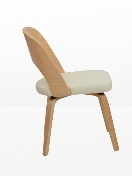 Construct Chair Natural Wood White 2 461x614
