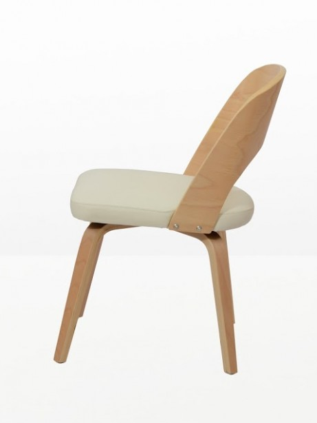 Construct Chair Natural Wood White 3 461x614