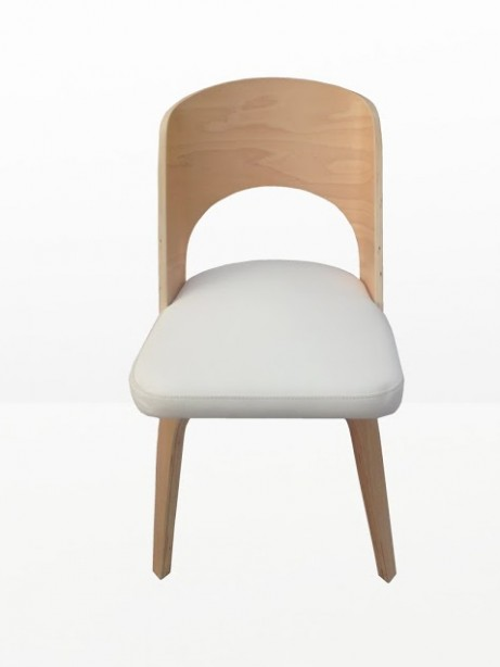Construct Chair Natural Wood White 461x614