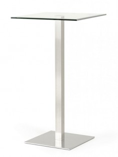 Edge Glass Bar Table 237x315