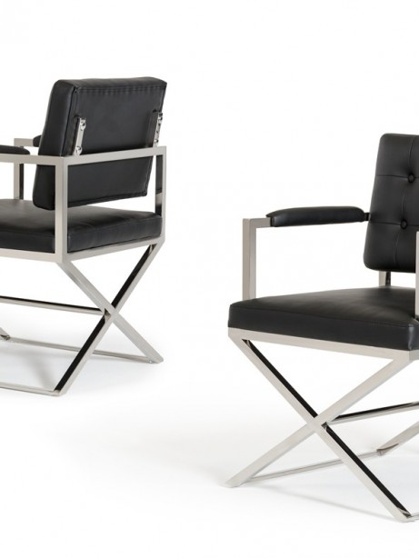 Glam Chair Black Leather 2 461x614