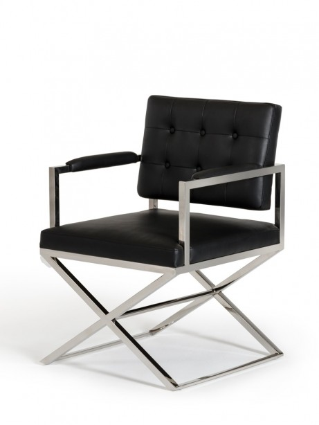 Glam Chair Black Leather 3 461x614