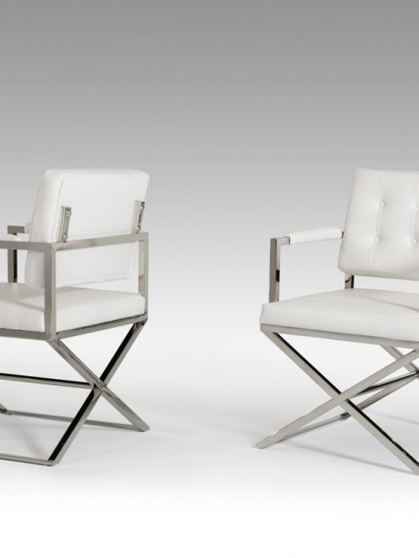 Glam Chair White Leather 3 461x614
