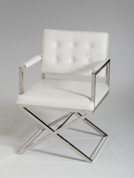 Glam Chair White Leather 4 461x614