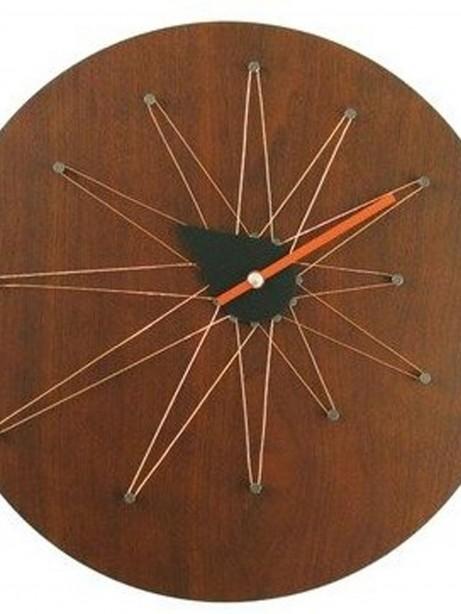 Mod Wood Clock 461x614