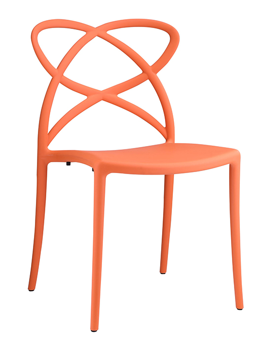 Orange Atom Chair1