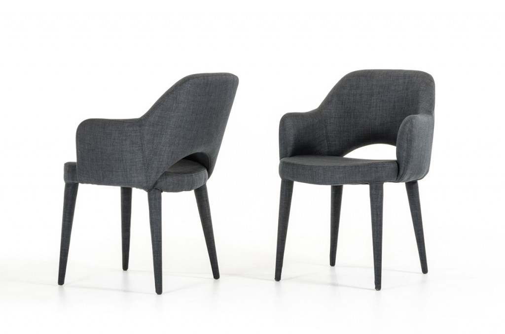 Porter Gray Wool Chair 2
