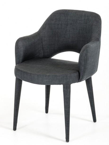 Porter Gray Wool Chair 461x614