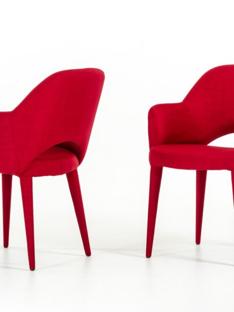 Porter Red Wool Chair 2 461x614