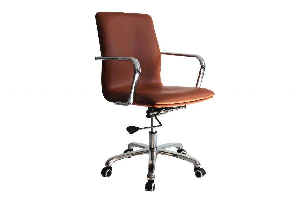 Profile Office Chair Light Brown 5