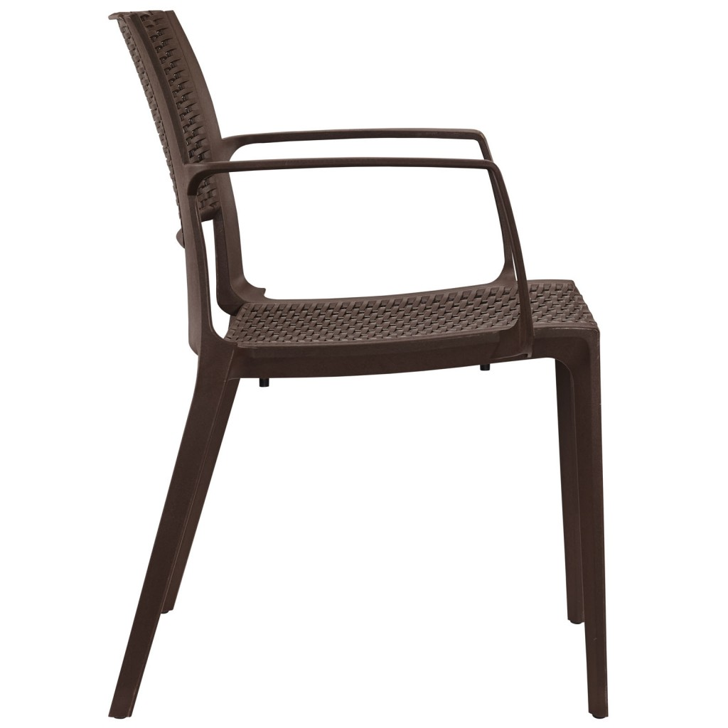 Tibi Armchair Brown 2
