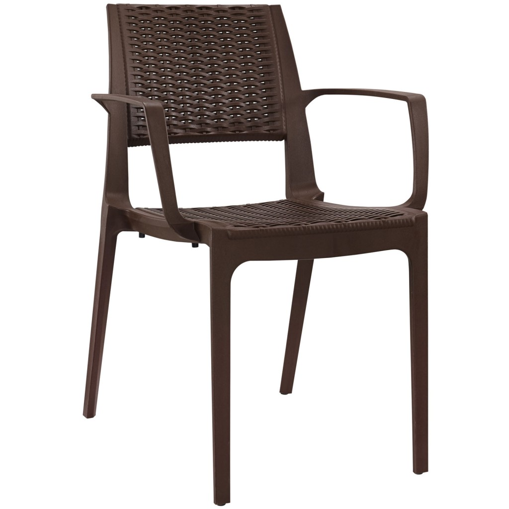 Tibi Armchair Brown 3