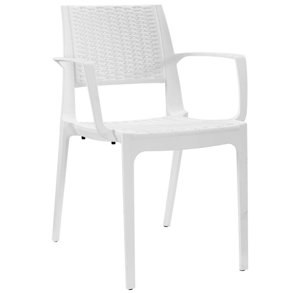 Tibi Armchair White 3