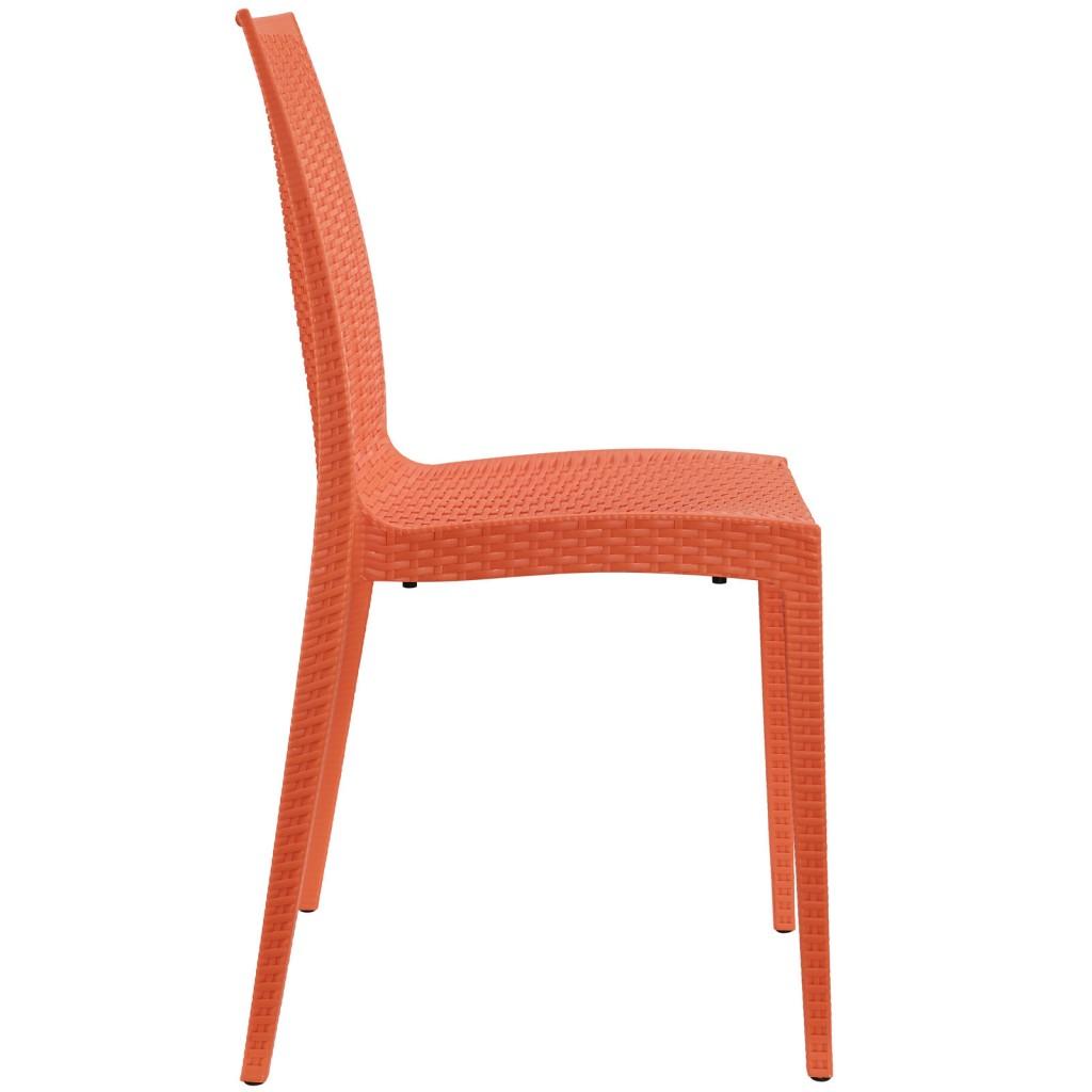 Tibi Chair Orange 2