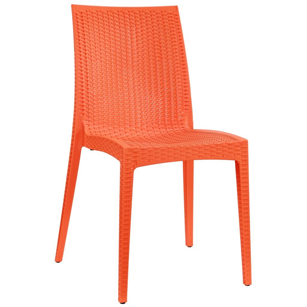 Tibi Chair Orange 3