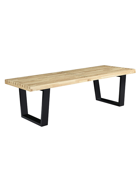 Samurai Double Slat Bench 4