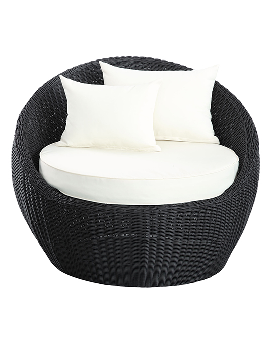 Black Hamptons Chair