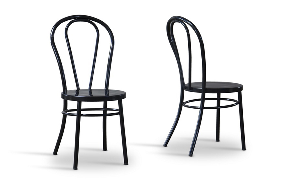 Black Spector Chair Set 6