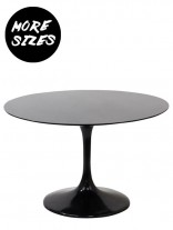 Brilliant Black Dining Table 156x207