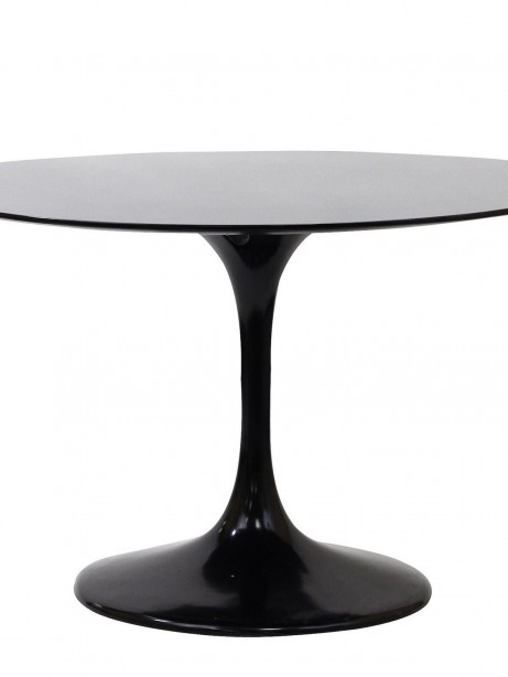 Brilliant Black Tulip Table  461x614