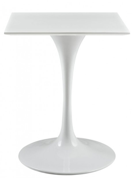 Brilliant Square White Side Table 461x614