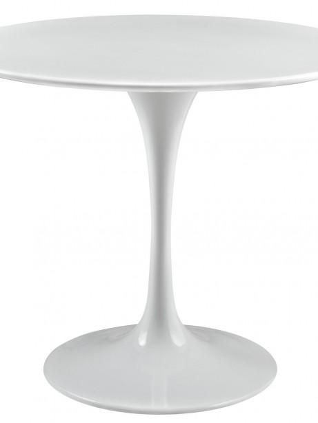 Brilliant White Tulip Table 36 Inch 461x614
