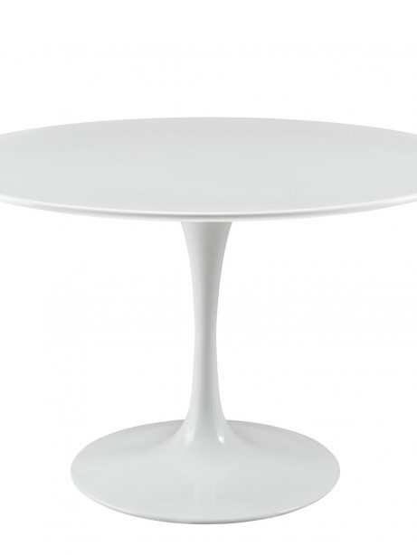 Brilliant White Tulip Table 48 Inch 461x614
