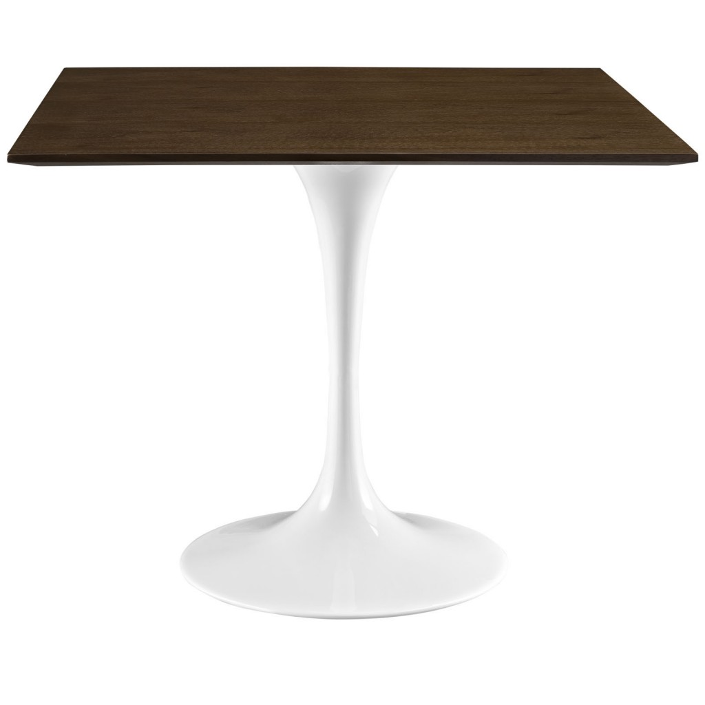 Dusk Square Walnut Wood Dining Table 36 Inch