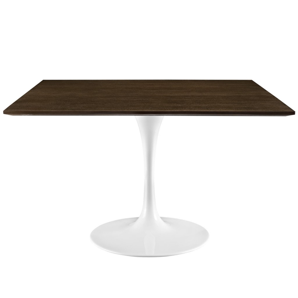 Dusk Square Walnut Wood Dining Table 48 Inch 2