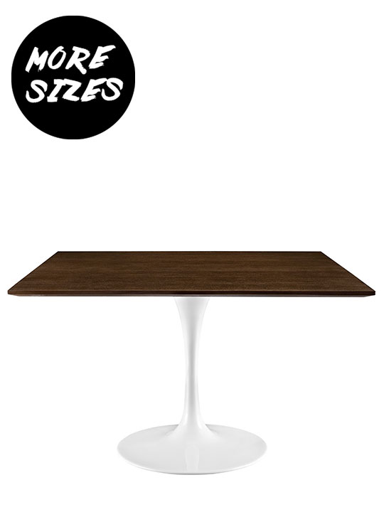 Dusk Square Walnut Wood Table