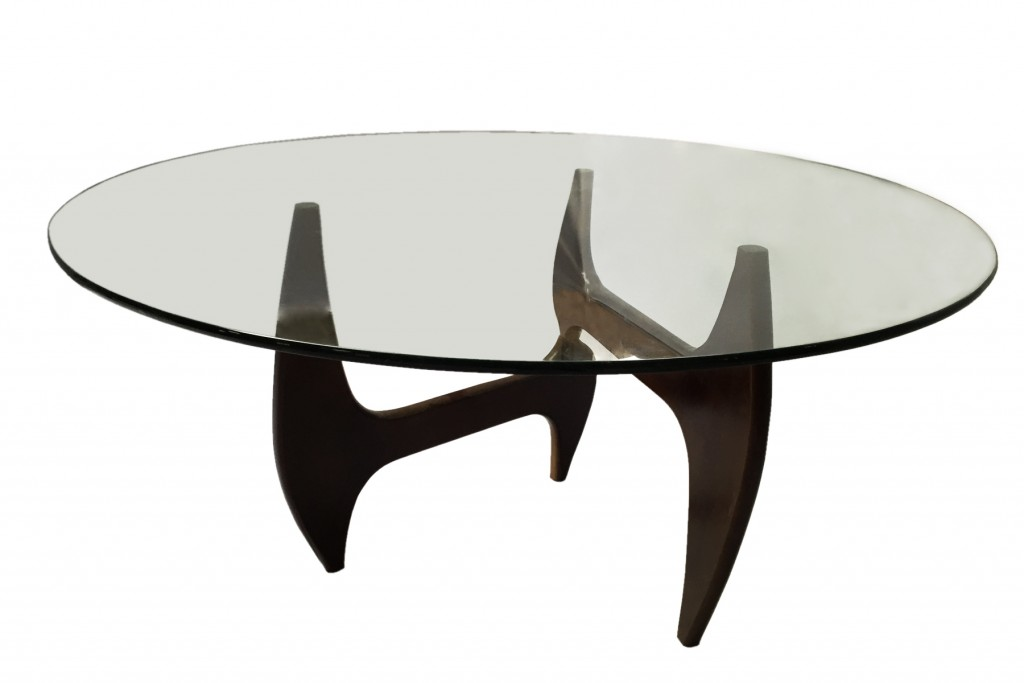 Esquire Wood Glass Dining Table 10