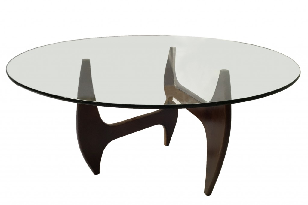 Esquire Wood Glass Dining Table 9