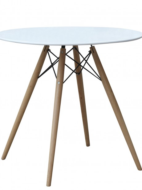 MCM White Wire Table 29 Inch 2 461x614