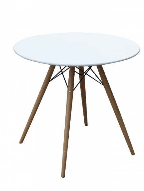 MCM White Wire Table 29 Inch 3 461x614