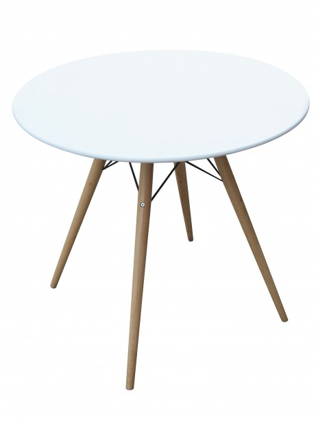 MCM White Wire Table 29 Inch 6 461x614