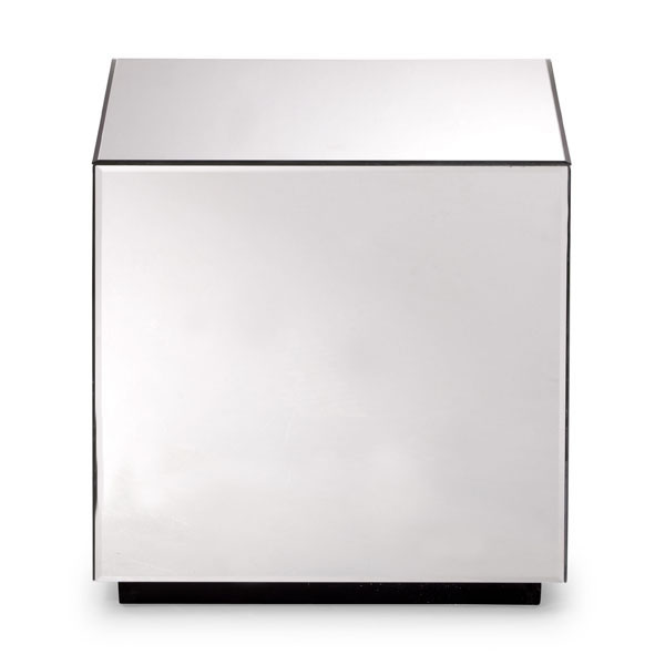 Mirror Cube Side Table 2