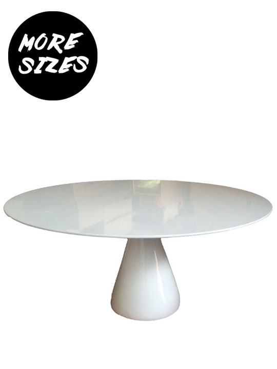 Miso White Dining Table