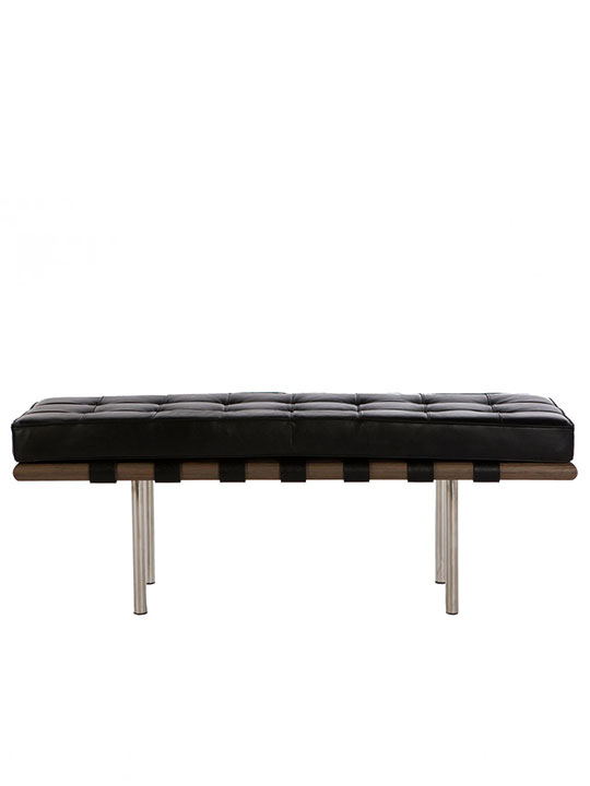 Modernist Bench Black MP