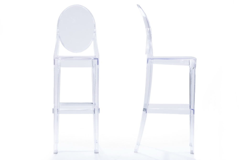 Throne Barstool 2 Set Modern Furniture Brickell