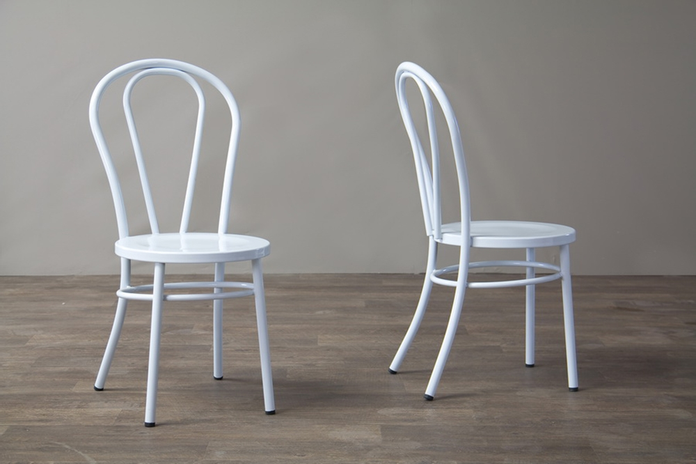 White Spector Chair Set