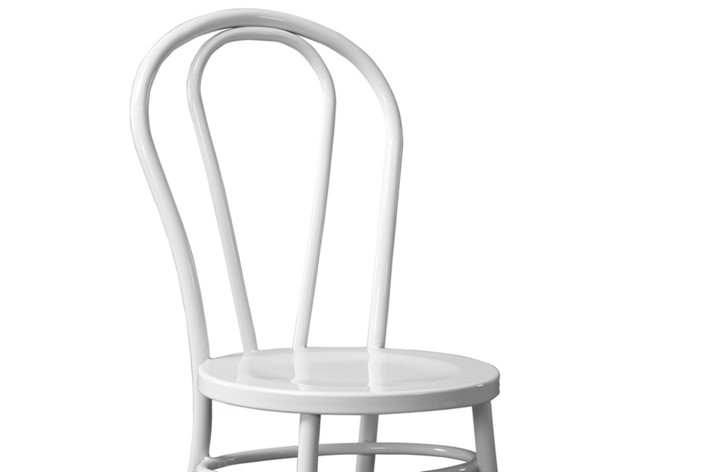 White Spector Chair Set 2
