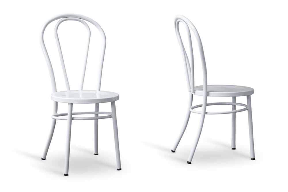 White Spector Chair Set 4