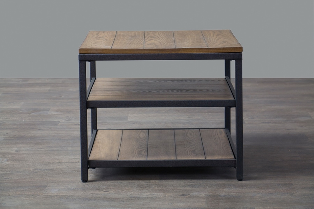 Cargo Wood End Table 5