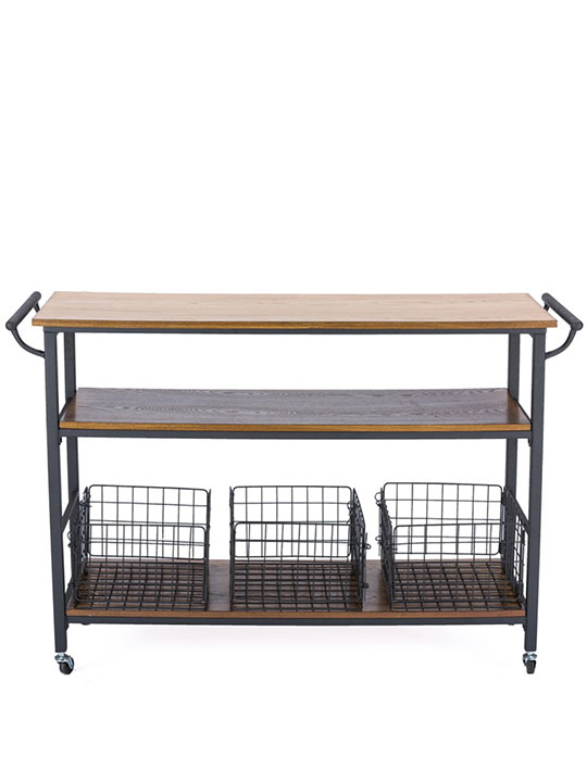 Cargo Garden Furniture Cargo wood rolling storage table modern furniture brickell cargo wood rolling side console table 1 workwithnaturefo